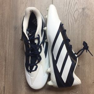 NEW Adidas Men's Athletic Football Cleat Shoe